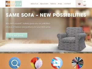 Soferia - wide range of covers for Ikea sofas